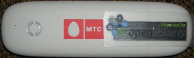 3G модем от МТС под OpenSolaris